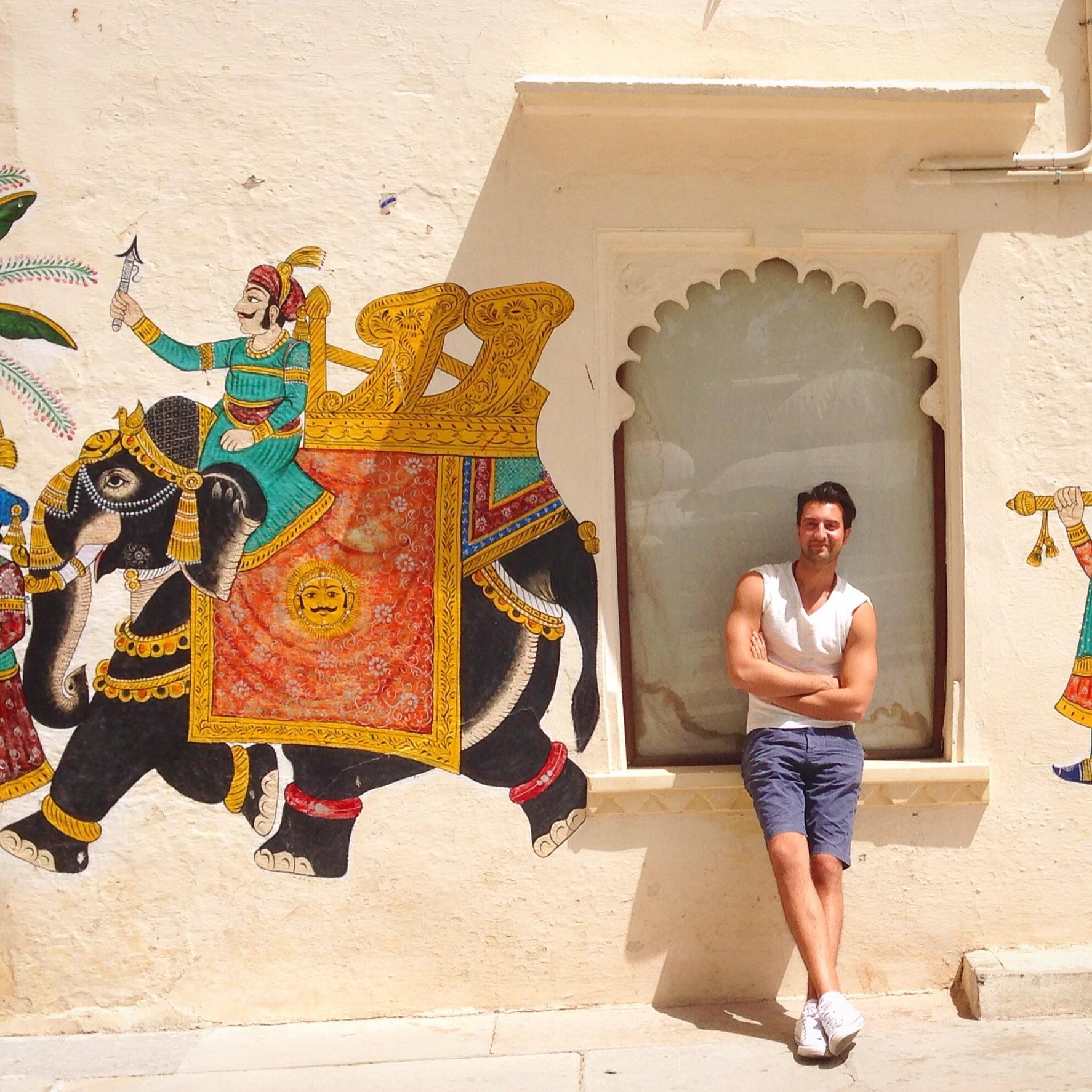 Stefano Colicchio india travel blogger