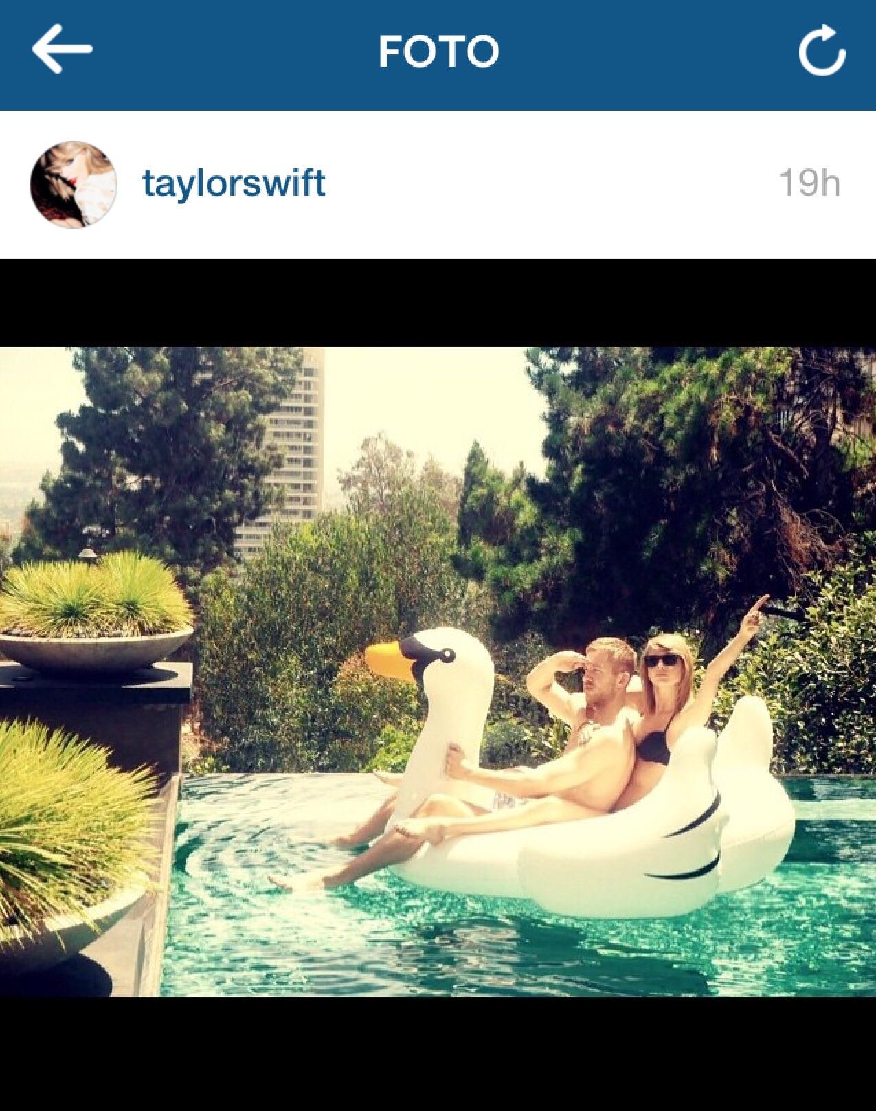 Calvin Harris Taylor Swift coppia amore passione gossip cronaca rosa fidanzati