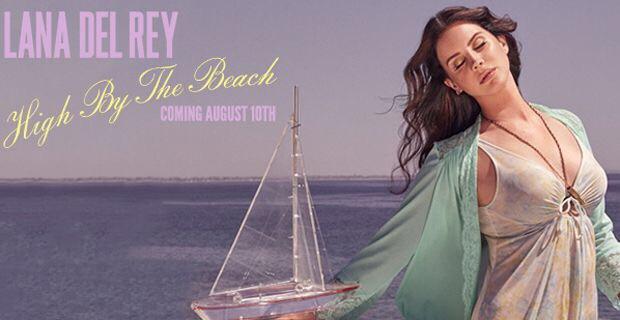 """LANA DEL REY """"HIGH BY THE BEACH"""" il primo singolo ufficiale del nuovo album """"HONEYMOON"""""""