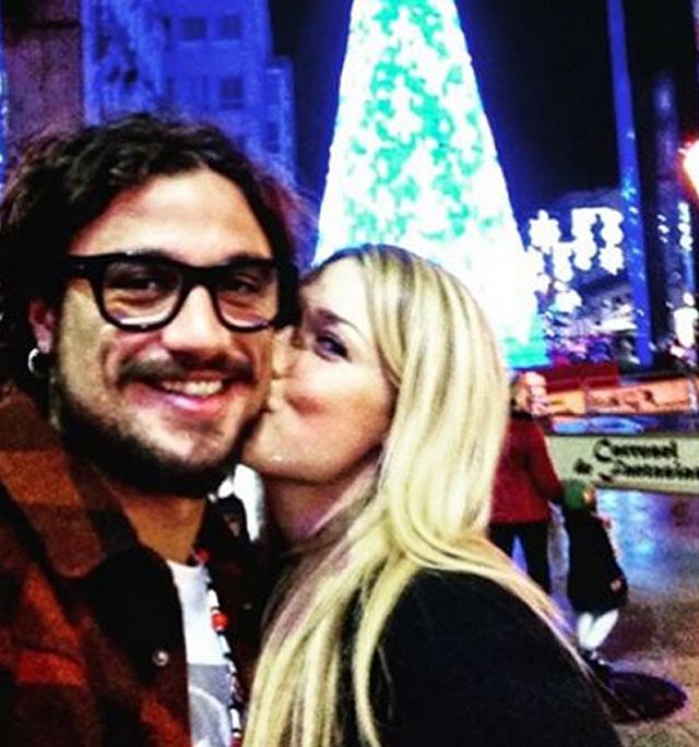 Benedetta Mazza e Daniel Pablo Osvaldo