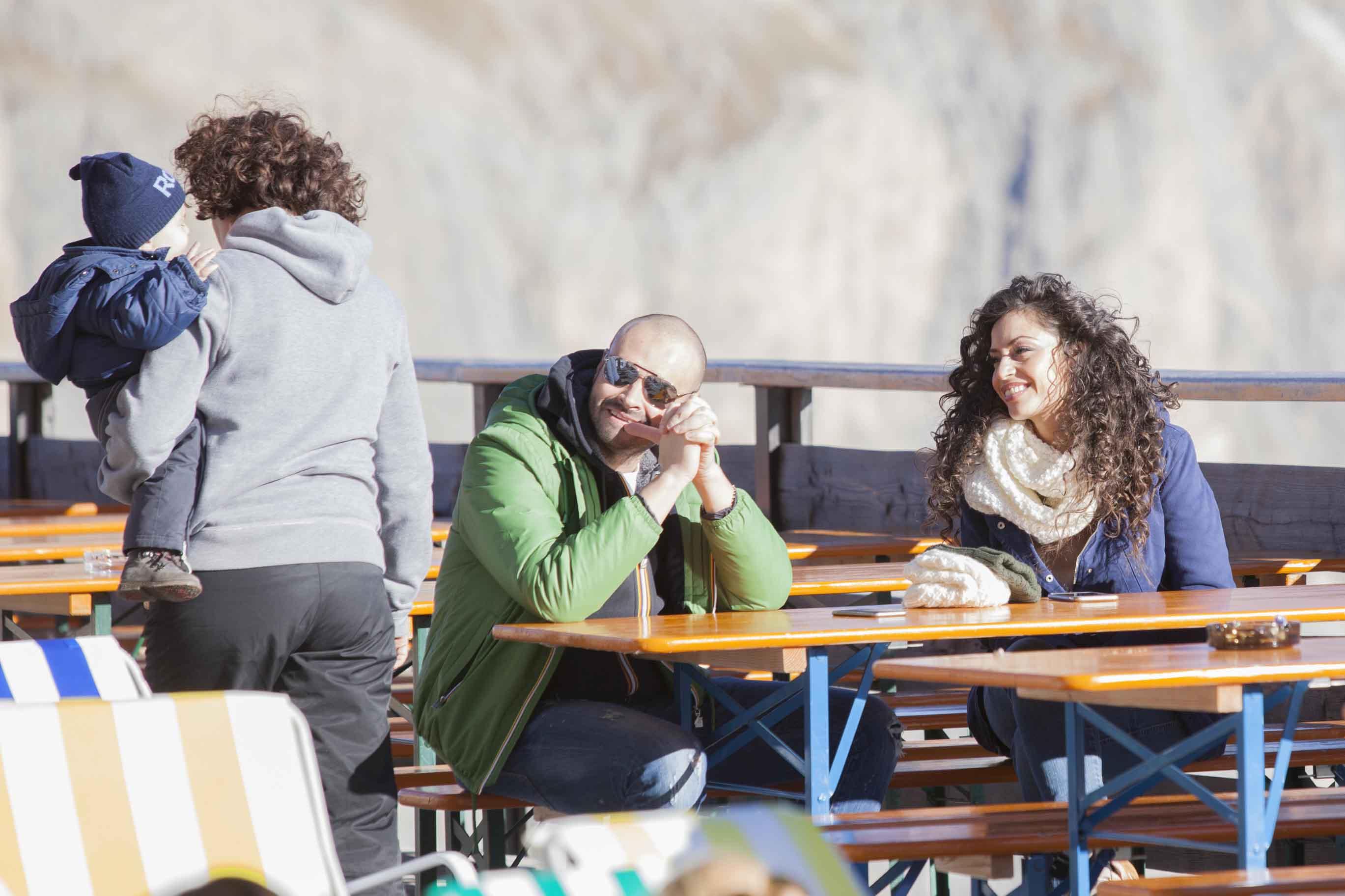 Raffaella fico tozzi Balotelli gossip Canazei Campitello Val di Fassa