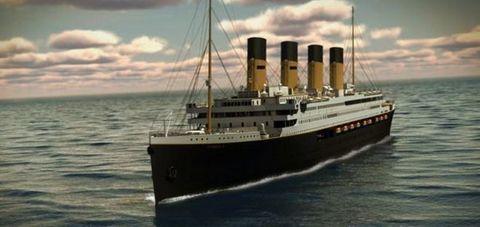 Pronta per il 2018 la copia Il Titanic