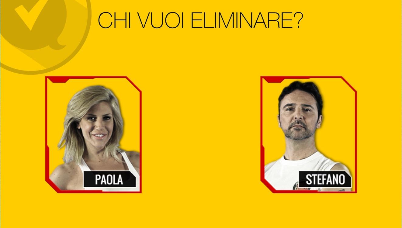L'ISOLA DEI FAMOSI: Paola Caruso o Stefano Orfei?