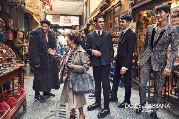 EVENTI E MONDANITA': Dolce&Gabbana loves Naples