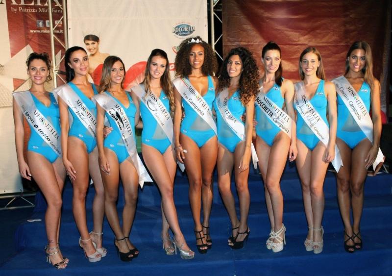 Miss Italia: Le prefinaliste della Campania