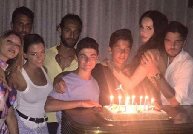 Fabrizio corona Nina Moric Carlos corona compleanno amori passioni coppie