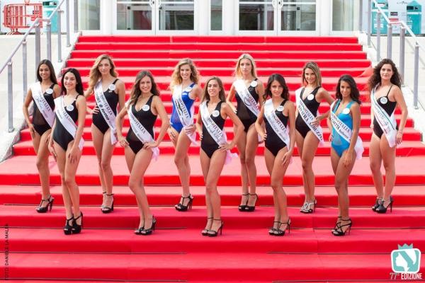 Miss Italia: le prefinaliste dell'Abruzzo