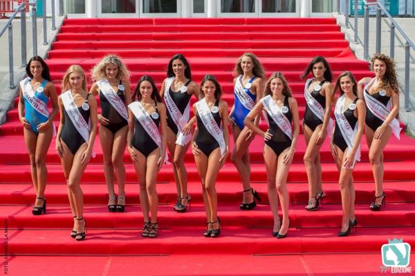 Miss Italia: le prefinaliste del Piemonte - Valle D'Aosta