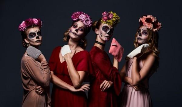 Halloween rossetti zucche trucchi make Up festa
